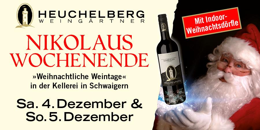 Nikolaus-Wochenende in Schwaigern - on hold