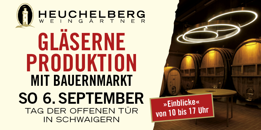 Bild zu Gläserne Produktion – Tag der offenen Tür bei den Heuchelberg Weingärtnern
